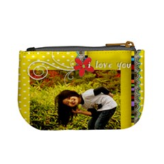 Mini Coin Purse   Genuine Love 2 By Angel   Mini Coin Purse   1jgef2dt3u8d   Www Artscow Com Back