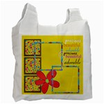 recycle bag - 2 sides - genuine love - Recycle Bag (Two Side)