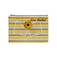 Give Thanks Cosmetic Bag (m) By Elena Petrova   Cosmetic Bag (medium)   Ovdtv3syjmde   Www Artscow Com Front