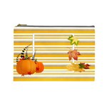 give thanks cosmetic bag (L) - Cosmetic Bag (Large)
