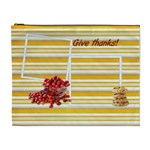 give thanks cosmetic bag (XL)