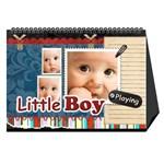 baby boy - Desktop Calendar 8.5  x 6
