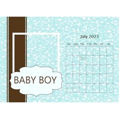 Baby Boy By Joely   Desktop Calendar 8 5  X 6    I60rpqu2595g   Www Artscow Com Jul 2019