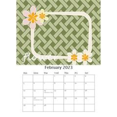Flower Worlds By Joely   Desktop Calendar 6  X 8 5    95v6gzgs3lea   Www Artscow Com Feb 2015