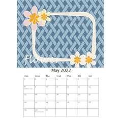 Flower Worlds By Joely   Desktop Calendar 6  X 8 5    95v6gzgs3lea   Www Artscow Com May 2015