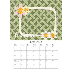 Flower Worlds By Joely   Desktop Calendar 6  X 8 5    95v6gzgs3lea   Www Artscow Com Jun 2015