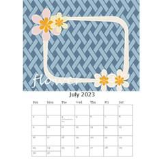 Flower Worlds By Joely   Desktop Calendar 6  X 8 5    95v6gzgs3lea   Www Artscow Com Jul 2015