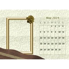 Delicate Desktop Calendar By Deborah   Desktop Calendar 8 5  X 6    91nq86jvfi0z   Www Artscow Com May 2017