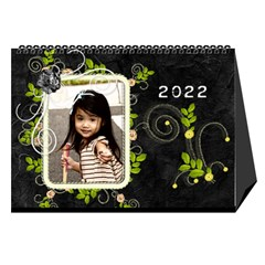 2019 Black By Angel   Desktop Calendar 8 5  X 6    Ujx7k96m5n42   Www Artscow Com Cover