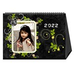 2015 black - Desktop Calendar 8.5  x 6
