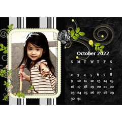 2019 Black By Angel   Desktop Calendar 8 5  X 6    Ujx7k96m5n42   Www Artscow Com Oct 2019