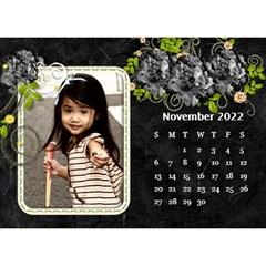 2019 Black By Angel   Desktop Calendar 8 5  X 6    Ujx7k96m5n42   Www Artscow Com Nov 2019