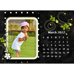 2019 Black By Angel   Desktop Calendar 8 5  X 6    Ujx7k96m5n42   Www Artscow Com Mar 2019