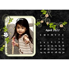 2019 Black By Angel   Desktop Calendar 8 5  X 6    Ujx7k96m5n42   Www Artscow Com Apr 2019