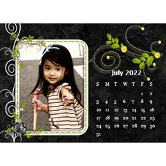 2019 Black By Angel   Desktop Calendar 8 5  X 6    Ujx7k96m5n42   Www Artscow Com Jul 2019