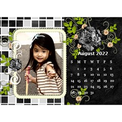 2019 Black By Angel   Desktop Calendar 8 5  X 6    Ujx7k96m5n42   Www Artscow Com Aug 2019