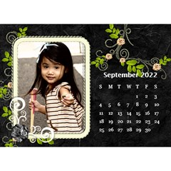 2019 Black By Angel   Desktop Calendar 8 5  X 6    Ujx7k96m5n42   Www Artscow Com Sep 2019