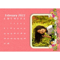 2015 Flower Faith   8 5x6 Calendar By Angel   Desktop Calendar 8 5  X 6    W0wmvpdj8qgv   Www Artscow Com Feb 2015
