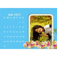 2015 Flower Faith   8 5x6 Calendar By Angel   Desktop Calendar 8 5  X 6    W0wmvpdj8qgv   Www Artscow Com Jul 2015