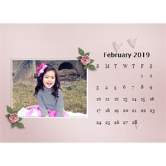 Desktop Calendar 8 5  X 6 : Beautiful You By Jennyl   Desktop Calendar 8 5  X 6    Grp60n5s86kv   Www Artscow Com Feb 2016