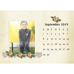 Desktop Calendar 8 5  X 6 : Beautiful You By Jennyl   Desktop Calendar 8 5  X 6    Grp60n5s86kv   Www Artscow Com Sep 2016