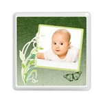 baby green - Memory Card Reader (Square)