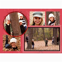 2011 Christmas Card By Laura   5  X 7  Photo Cards   Gh752d0cmrcg   Www Artscow Com 7 x5 Photo Card - 7