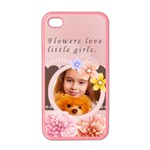 Flower girl - Apple iPhone 4 Case (Color)
