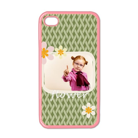 Flower By Joely   Apple Iphone 4 Case (color)   Roryws7a9rbd   Www Artscow Com Front