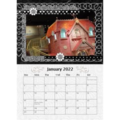 2019 Balck By Angel   Desktop Calendar 6  X 8 5    Nwpdt5mm8tat   Www Artscow Com Jan 2019