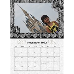 2019 Balck By Angel   Desktop Calendar 6  X 8 5    Nwpdt5mm8tat   Www Artscow Com Nov 2019