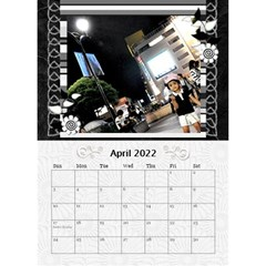 2019 Balck By Angel   Desktop Calendar 6  X 8 5    Nwpdt5mm8tat   Www Artscow Com Apr 2019