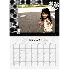 2019 Balck By Angel   Desktop Calendar 6  X 8 5    Nwpdt5mm8tat   Www Artscow Com Jul 2019