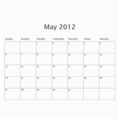 2012 D R  Calendar By Kathie Thomas   Wall Calendar 11  X 8 5  (12 Months)   Xlcznb93bor2   Www Artscow Com May 2012