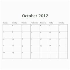 2012 D R  Calendar By Kathie Thomas   Wall Calendar 11  X 8 5  (12 Months)   Xlcznb93bor2   Www Artscow Com Oct 2012