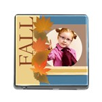 fall girl - Memory Card Reader with Storage (Square)