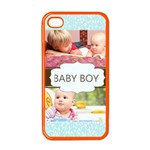 baby boy - Apple iPhone 4 Case (Color)