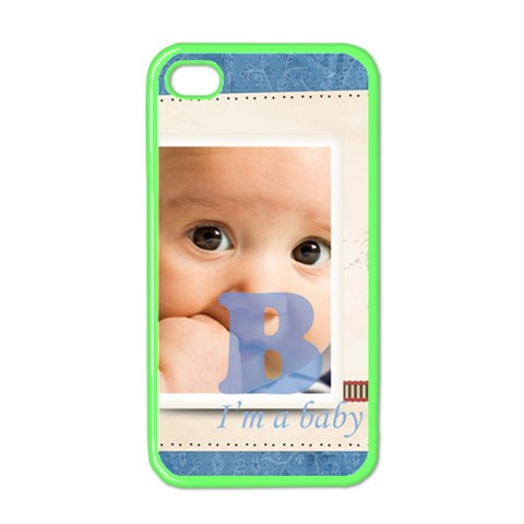 Baby Boy By Joely   Iphone 4 Case (color)   Dnwvdfa5jnwx   Www Artscow Com Front