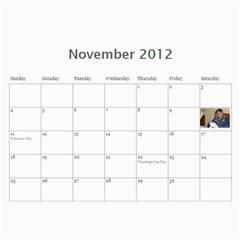 Nannys Calender By Sandra Oldham   Wall Calendar 11  X 8 5  (12 Months)   1kujgd2bgdm2   Www Artscow Com Nov 2012