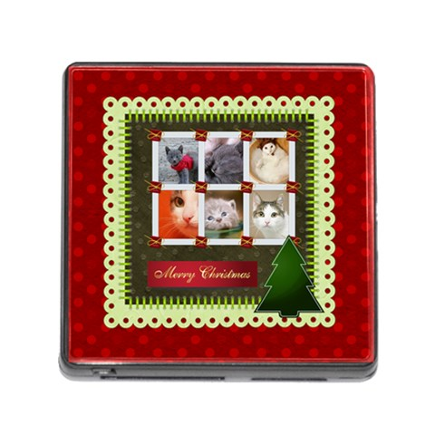 Christmas By Joely   Memory Card Reader (square)   Lx4l6e8z6gbf   Www Artscow Com Front
