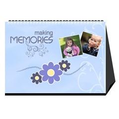 2016 Serenity Blue Desktop Calendar 8 5x6 By Picklestar Scraps   Desktop Calendar 8 5  X 6    Vrbzc66srpr6   Www Artscow Com Cover