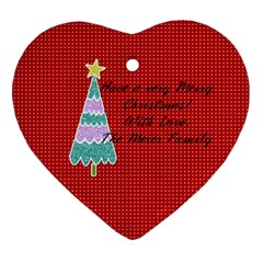 2 Sided Heart 5 By Martha Meier   Heart Ornament (two Sides)   42kiiee4bvkl   Www Artscow Com Back