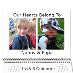 Mom And Dad R 2012 Calendar By Amy Roman   Wall Calendar 11  X 8 5  (12 Months)   Ryz5ypoxx1z7   Www Artscow Com Cover