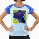 Jewish Star Menora Women s Cap Sleeve T-Shirt