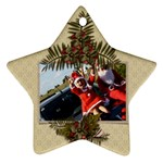 Two Sides: Ornament Christmas 4 - Star Ornament (Two Sides)