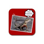 Comment coaster - Rubber Coaster (Square)