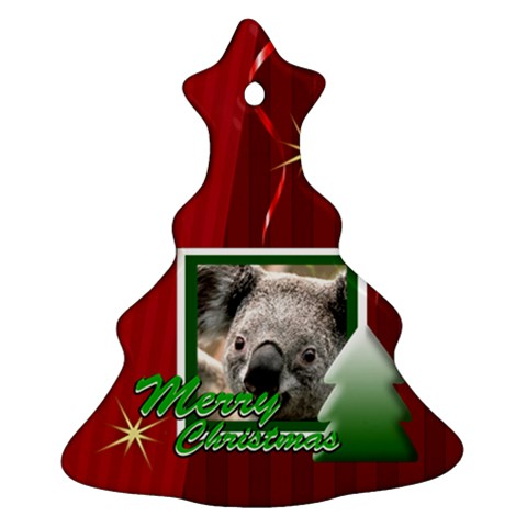 Christmas By Clince   Ornament (christmas Tree)    6rs1h2mwypxi   Www Artscow Com Front