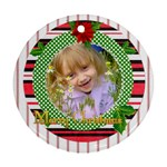xmas idea - Ornament (Round)