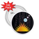 Cosmos 2.25  Button (100 pack)