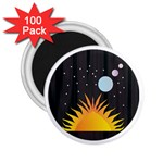 Cosmos 2.25  Magnet (100 pack)